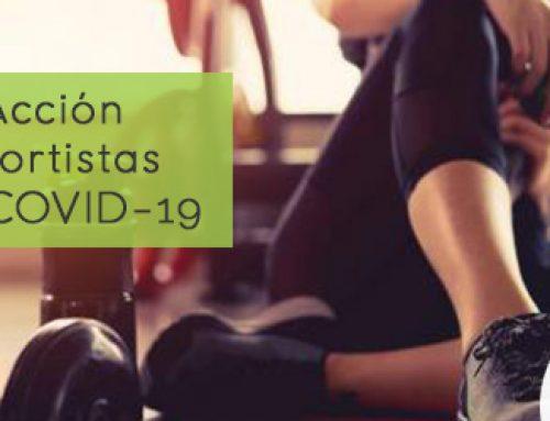 Plan de Acción para deportistas durante COVID-19